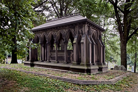 Image result for green wood cemetery images
