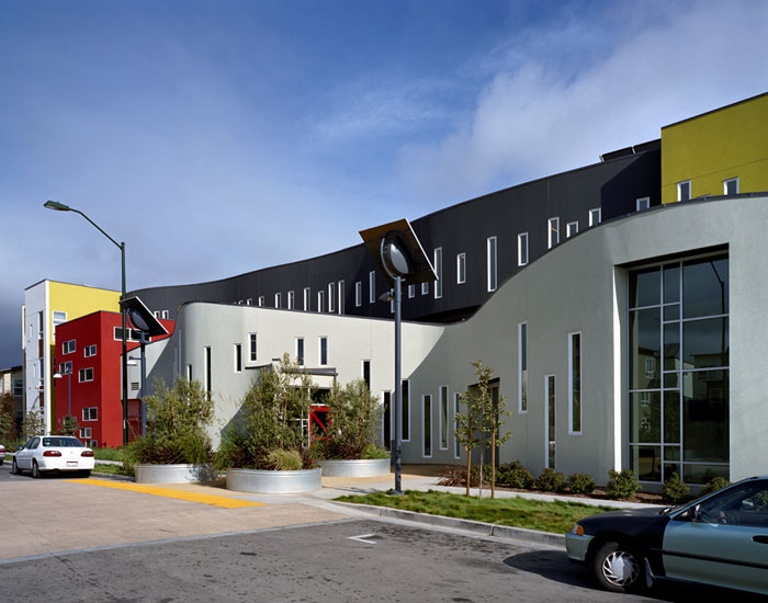 New york tassafaronga village oakland ca journal for Modern factory building design